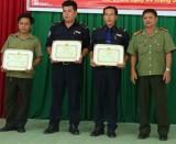 Công an huyện Bàu Bàng: Kịp thời khen thưởng thành tích phá án
