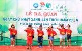 Huyện đoàn Bắc Tân Uyên: Ra quân Ngày chủ nhật xanh lần III năm 2016