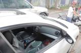 Cảnh báo tình trạng đập kính ô tô trộm tài sản