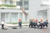 Rèn luyện tác phong và bản lĩnh của người lính cứu hỏa
