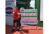 Kết thúc giải quần vợt Men's Futures F5: Lý Hoàng Nam (Bình Dương) lần đầu vô địch