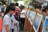 """""""我们到过的地方——长沙群岛""""新闻图片展在胡志明市举行"""