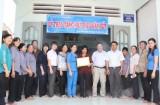 Hội LHPN phường Hưng Định, TX.Thuận An: Trao nhà đại đoàn kết cho phụ nữ khó khăn