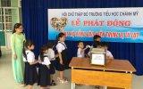 Hội Chữ thập đỏ Trường Tiểu học Chánh Mỹ, TP.Thủ Dầu Một: Phát động đợt quyên góp ủng hộ đồng bào miền trung bị lũ lụt