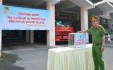 Cảnh sát PC&CC tỉnh quyên góp ủng hộ đồng bào miền Trung