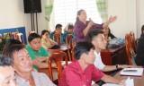 Đại biểu HĐND tỉnh và TX.Thuận An tiếp xúc cử tri phường Bình Nhâm