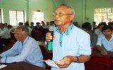 Đại biểu HĐND tỉnh và huyện Phú Giáo tiếp xúc cử tri xã Tân Long