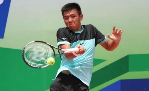 Hoàng Nam vào ở tứ kết đơn nam giải Vietnam F9 Futures