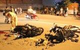 Tai nạn giao thông giữa 2 xe máy, 3 người bị thương nặng