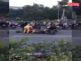 Công an TX Thuận An: Điều tra, xác minh vụ nhiều người xẻ thịt trâu trên đường