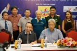 Nhãn hàng Nước tăng lực Number 1 thuộc Tập đoàn Number 1: Tài trợ sự kiện Giải Taekwondo Quốc tế Cúp Chủ tịch VTF và Giải Vô địch Taekwondo đồng đội Cup VTF lần 1 - 2016