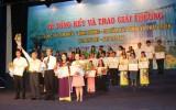 """Tổng kết Cuộc thi tìm hiểu """"Bình Dương-20 năm xây dựng và phát triển"""": Ban tổ chức trao giải cho 71 cá nhân, 6 tập thể"""