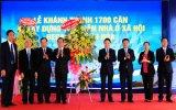 Khánh thành 1.700 căn nhà ở xã hội Becamex Định Hòa