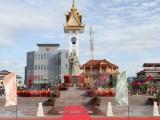 Khánh thành tượng đài hữu nghị Việt Nam-Campuchia và Đài độc lập
