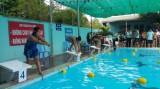 TX.Bến Cát: Gần 200 vận động viên tham gia giải bơi lội Hội khỏe Phù đổng