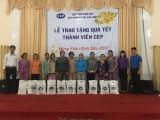 Quỹ trợ vốn CEP trao 277 phần quà Tết cho thành viên khó khăn