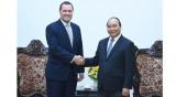 阮春福总理会见捷克驻越大使马丁•克莱佩特科
