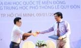 ĐH Quốc tế Miền Đông hợp tác với Trường THPT Lê Quý Đôn phát triển năng khiếu khoa học