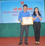 Trao giấy chứng nhận hoàn thành lớp nghiệp vụ thanh vận cho 92 học viên