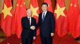 越共中央总书记阮富仲圆满结束对华访问
