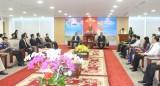 省领导亲切会见柬埔寨干丹省代表团