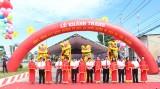 Khánh thành công trình xây dựng đường từ ngã ba Mười Muộn đi ngã ba Tân Thành
