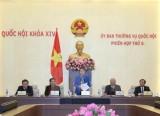 Bế mạc Phiên họp thứ 6 Ủy ban Thường vụ Quốc hội khóa XIV