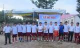 Xã đoàn Minh Hòa (huyện Dầu Tiếng): Tổ chức giải bóng đá truyền thống năm 2017