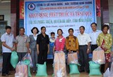 Biwase visits, extends Tet greetings to border posts, residents in Binh Phuoc