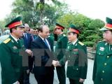 Thủ tướng kiểm tra công tác sẵn sàng chiến đấu tại Sư đoàn 312