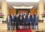越共中央总书记阮富仲会见东盟各国驻越使节