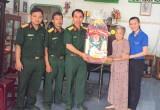 Lữ đoàn Công binh 550, Quân đoàn 4: Thăm, tặng quà mẹ Việt Nam anh hùng