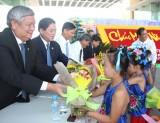 Cộng đồng người Hoa Thủ Dầu Một chúc Tết Nguyên tiêu lãnh đạo tỉnh