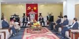 Lãnh đạo tỉnh tiếp Đại sứ Ấn Độ tại Việt Nam