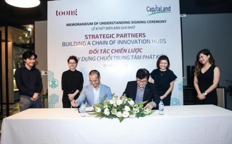 Tập đoàn Singapore hợp tác chiến lược với startup Toong là ai?