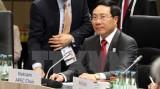 越南政府副总理兼外交部长范平明出席G20外长会议并发表演讲