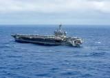 Hải quân Mỹ điều tàu sân bay tuần tra trên Biển Đông