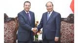 阮春福总理会见东帝汶和摩洛哥驻越大使