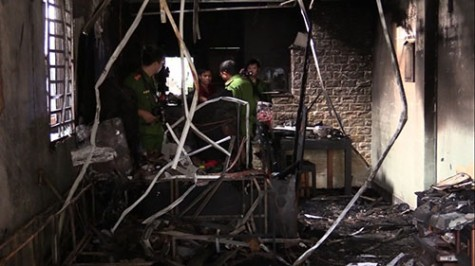 Khẩn trương điều tra nguyên nhân vụ cháy làm 4 người chết