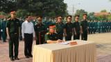 Bộ Chỉ huy Quân sự tỉnh: Ra quân huấn luyện năm 2017