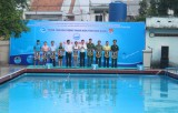 2017年第十二届传统游泳赛热闹开赛