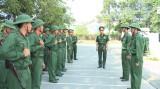 Chiến sĩ mới Trung đoàn Bộ binh 6: Thi đua huấn luyện giỏi, rèn luyện nghiêm