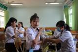 TX.Tân Uyên: Tiêm ngừa vaccine uốn ván cho học sinh