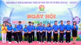 "Provincial Festival ""Happy, joyful children-Advancing towards Youth Union"" 2017 gets animatedly"