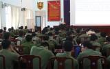 """Hội nghị nói chuyện chuyên đề """"Tuổi trẻ Công an tỉnh thực hiện Nghị quyết Trung ương 4 (khóa XII)"""" và """"Văn hóa ứng xử của thanh niên Công an trong tình hình hiện nay"""""""