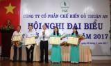 Công ty Cổ phần chế biến gỗ Thuận An: Chăm lo tốt đời sống vật chất, tinh thần cho người lao động