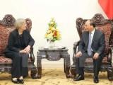 Thủ tướng Nguyễn Xuân Phúc tiếp Hiệu trưởng Đại học Harvard