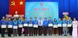 Đoàn khối Các cơ quan tỉnh, Thị đoàn Bến Cát: Mít tinh kỷ niệm 86 năm Ngày thành lập Đoàn