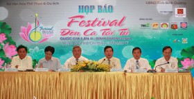 """Press conference on 2nd national """"Don Ca Tai Tu"""" festival held"""