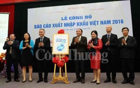 2016年越南进出口报告出炉 出口增速保持在9%的水平